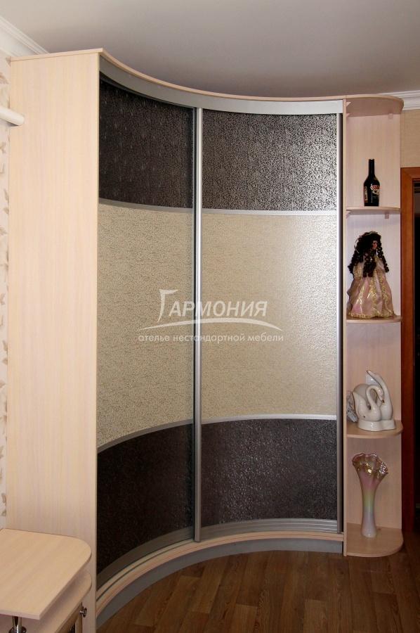 корпусный радиусный шкаф заказать в омске