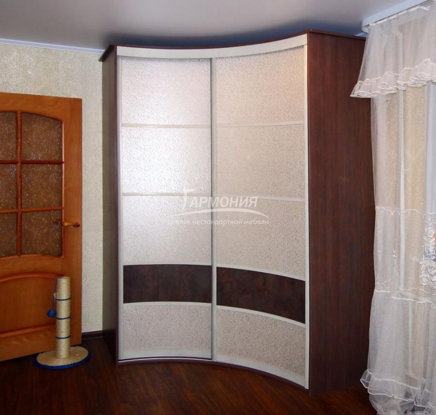 Корпусный радиусный шкаф заказать в омске.