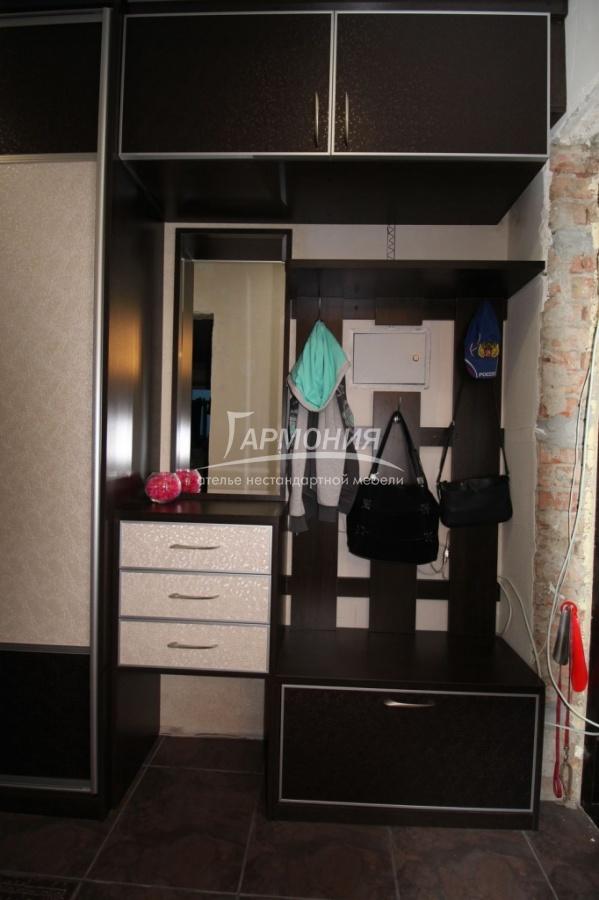Шкаф для прихожей с радиусной дверью заказать в омске.